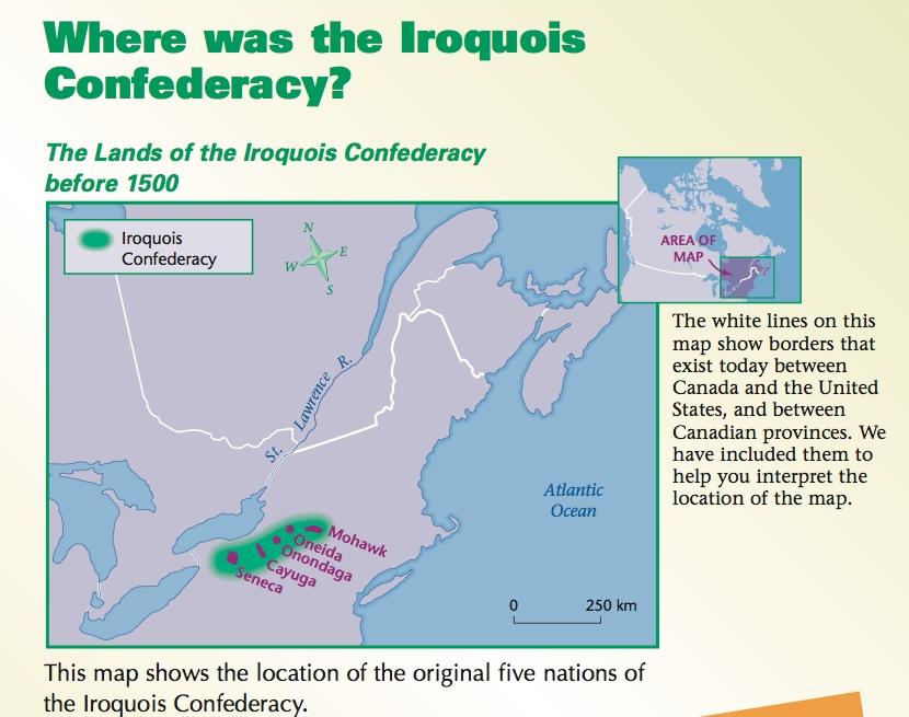 iroquois confederacy notes